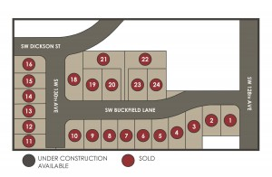 23 New Homes in Tigard new home community
